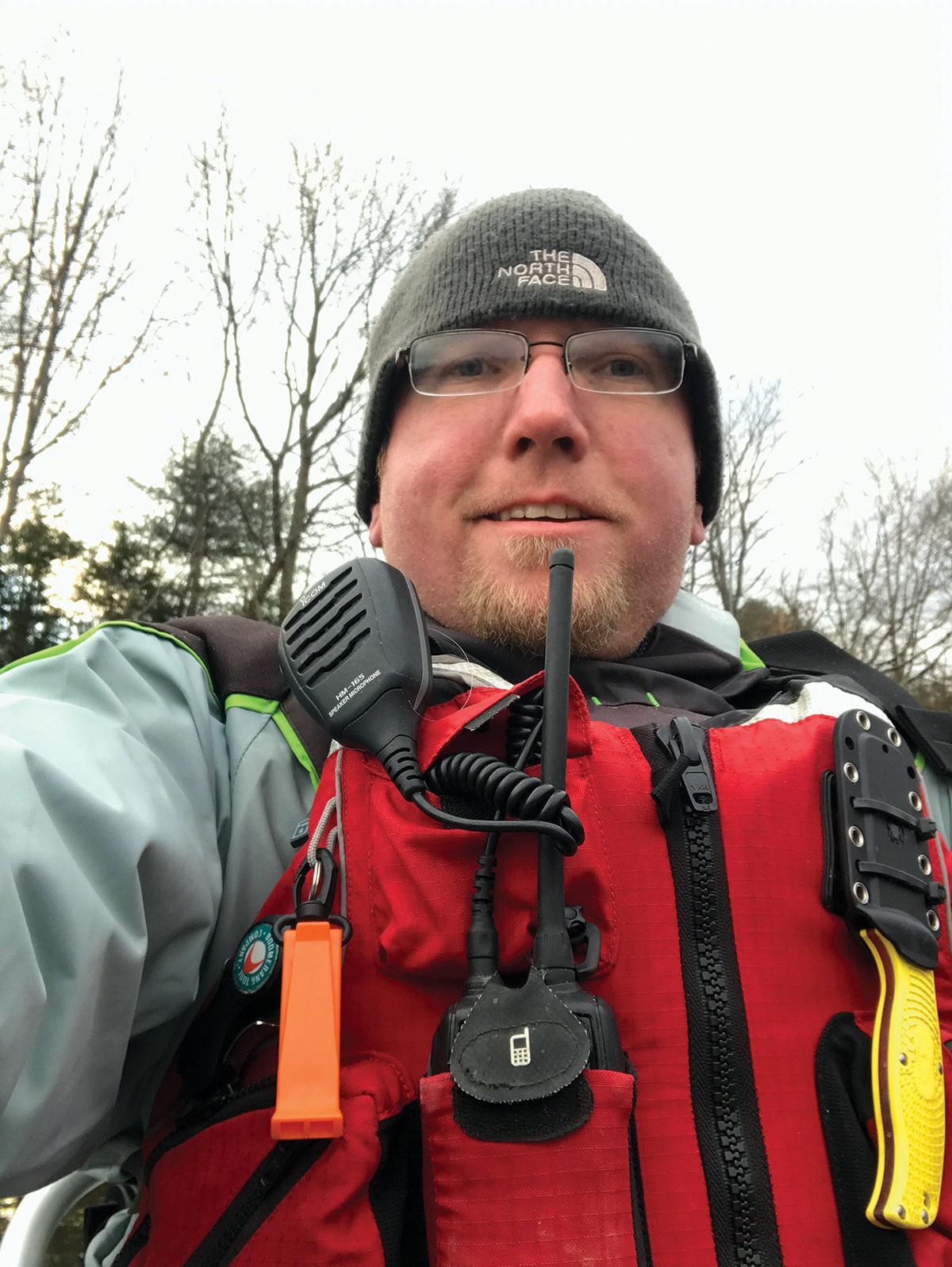 2017 11 Cold Weather Kayaking WAHL SELFIE