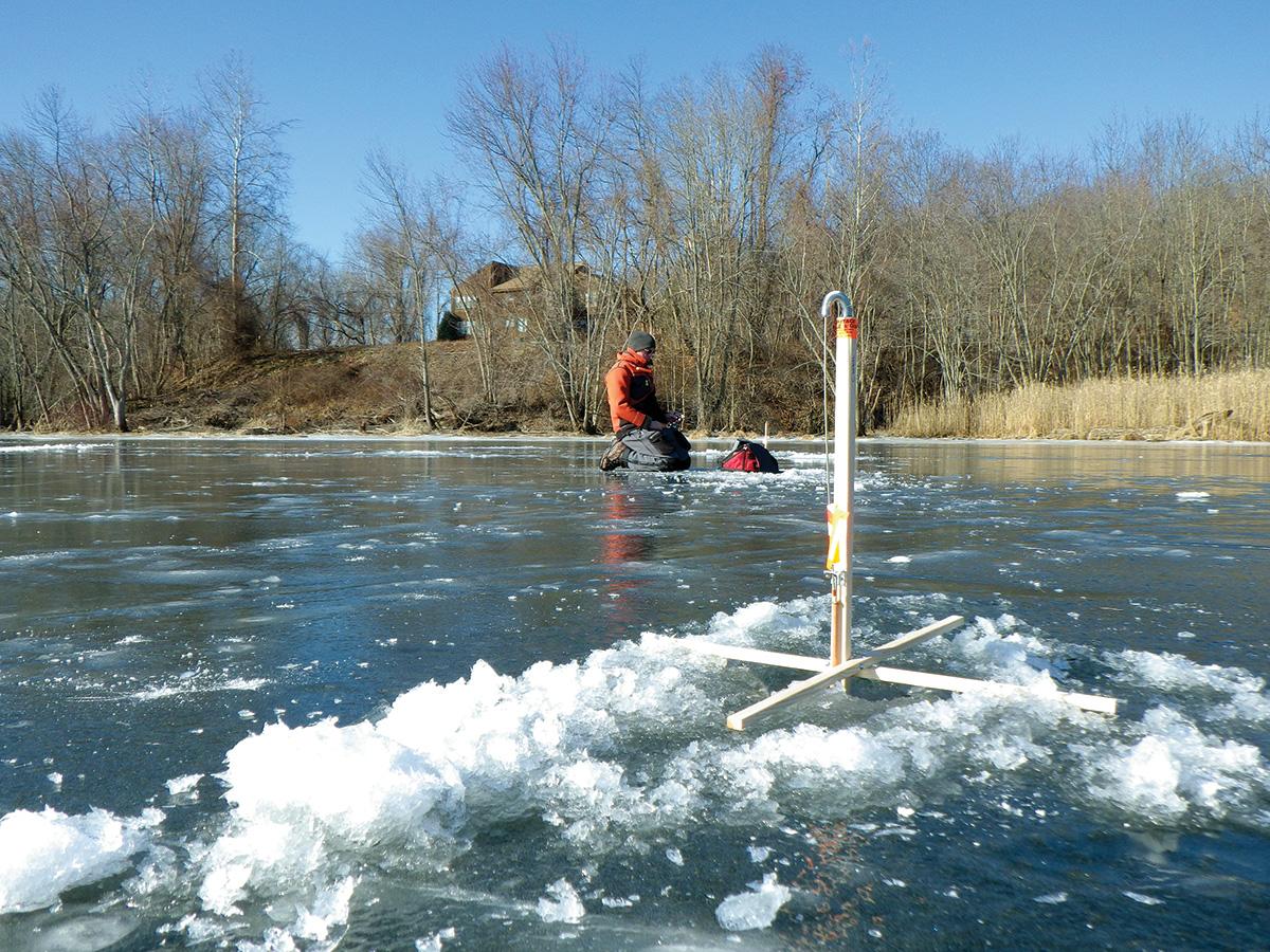2017 12 First Ice Nice Ice Fishing