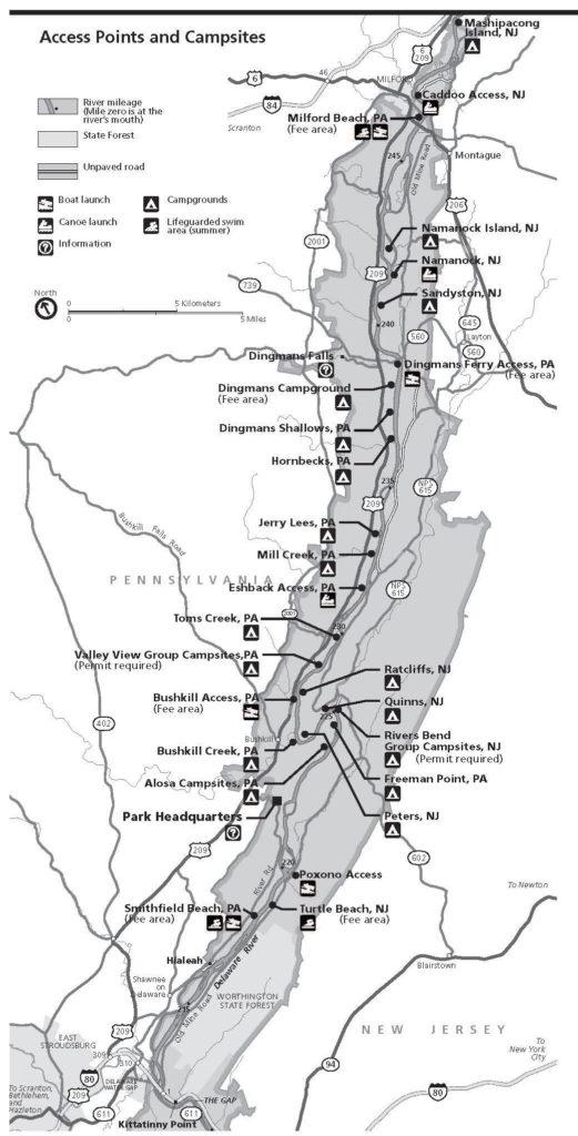 Late Winter Walleye Map