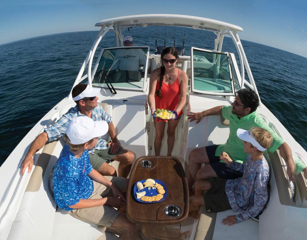 Family Fishing Boats 2