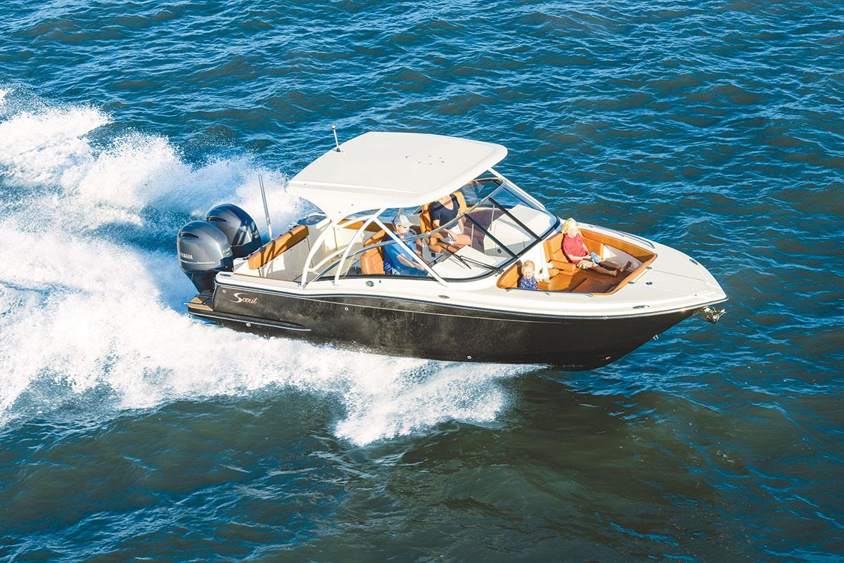 Family Fishing Boats Scout 255 Dorado