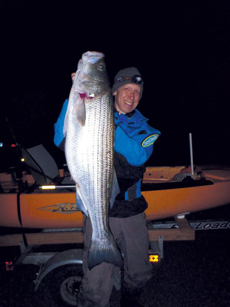 Chunking Back Bay Bass Trophy