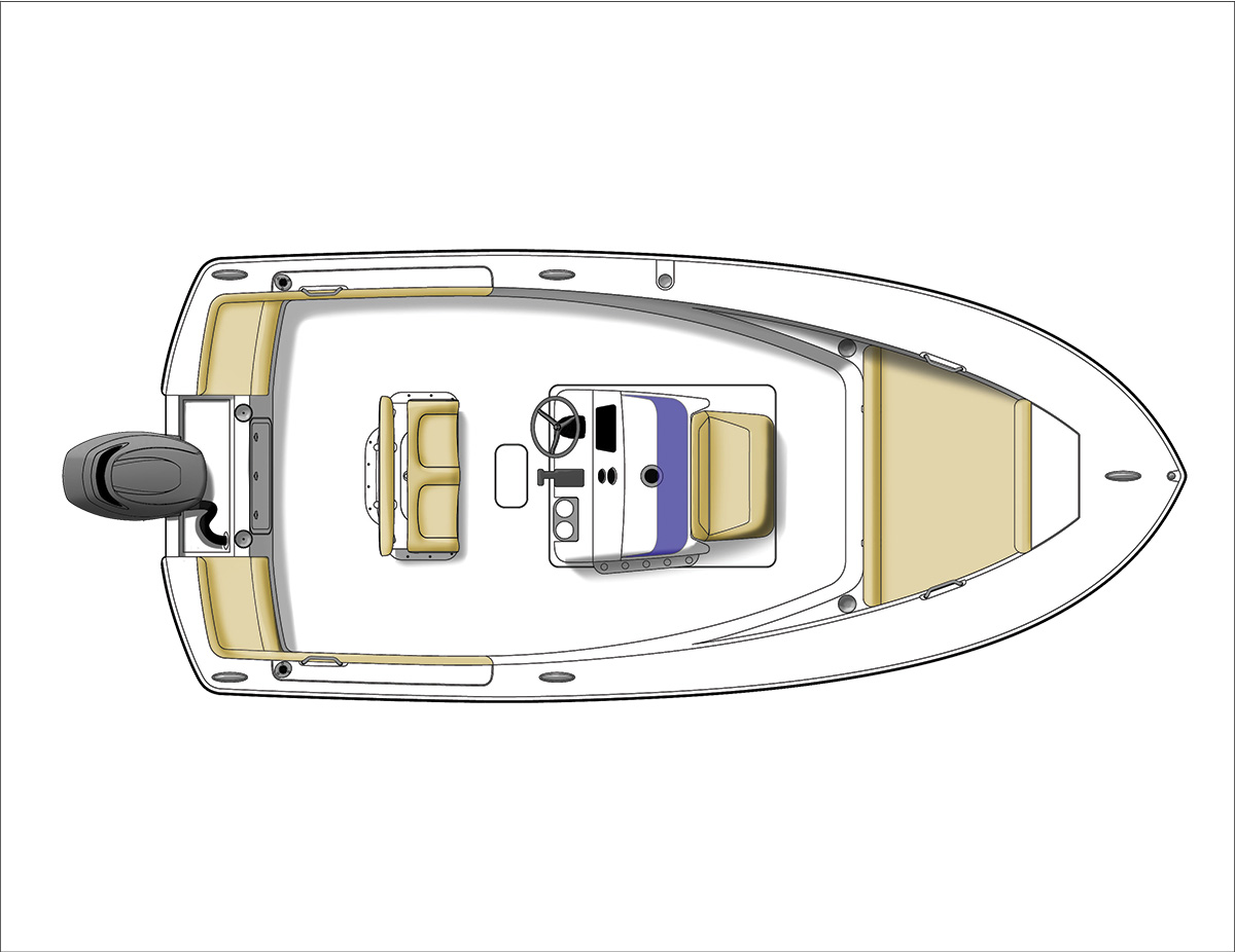 2017 5 Northeast Inshore Boats Above Deck Console