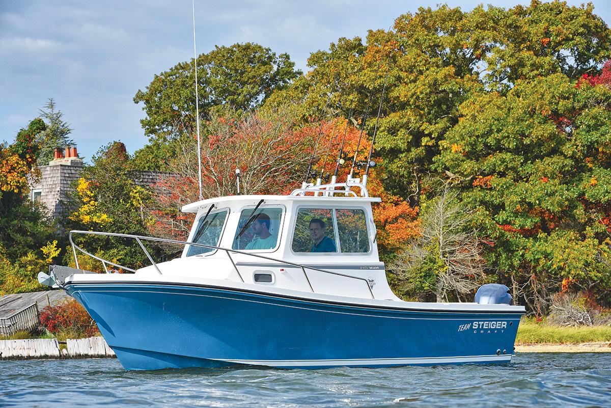 2017 5 Northeast Inshore Boats Walk Arounds