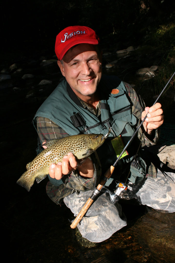 2017 6 Trout Fishing The Lehigh River Trout Angler With Brown
