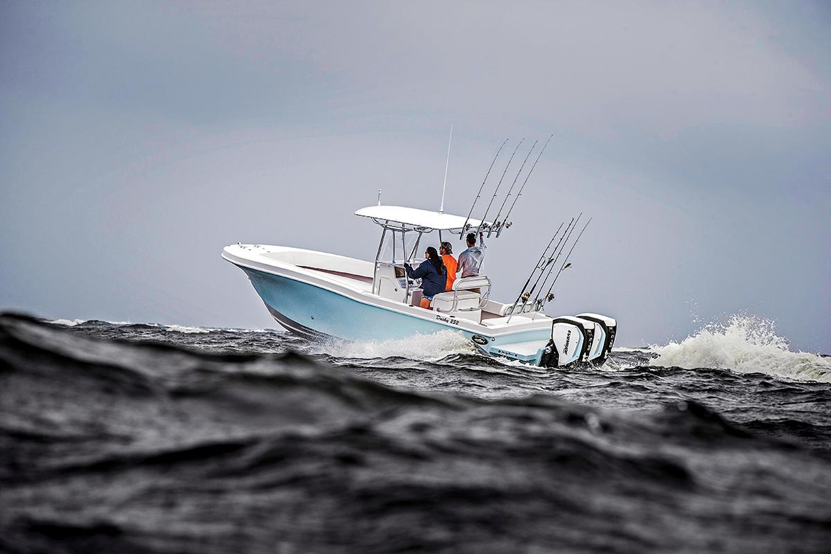 2017 7 Maximizing Range Speed Fishing Time Twin 150 HP Evinrude E TEC G2's