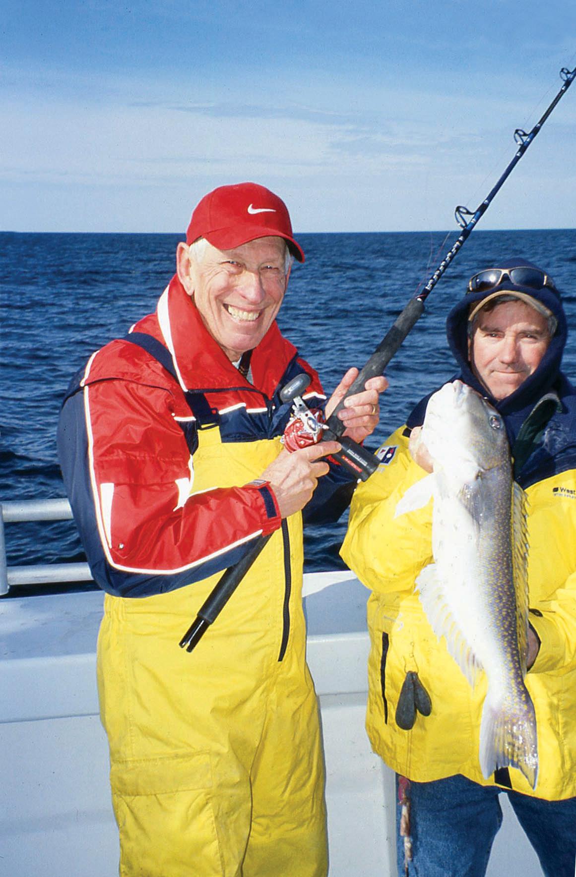 2017 8 Deep Drop Bottom Fishing CAPT BOB BOGAN AND AUTHOR