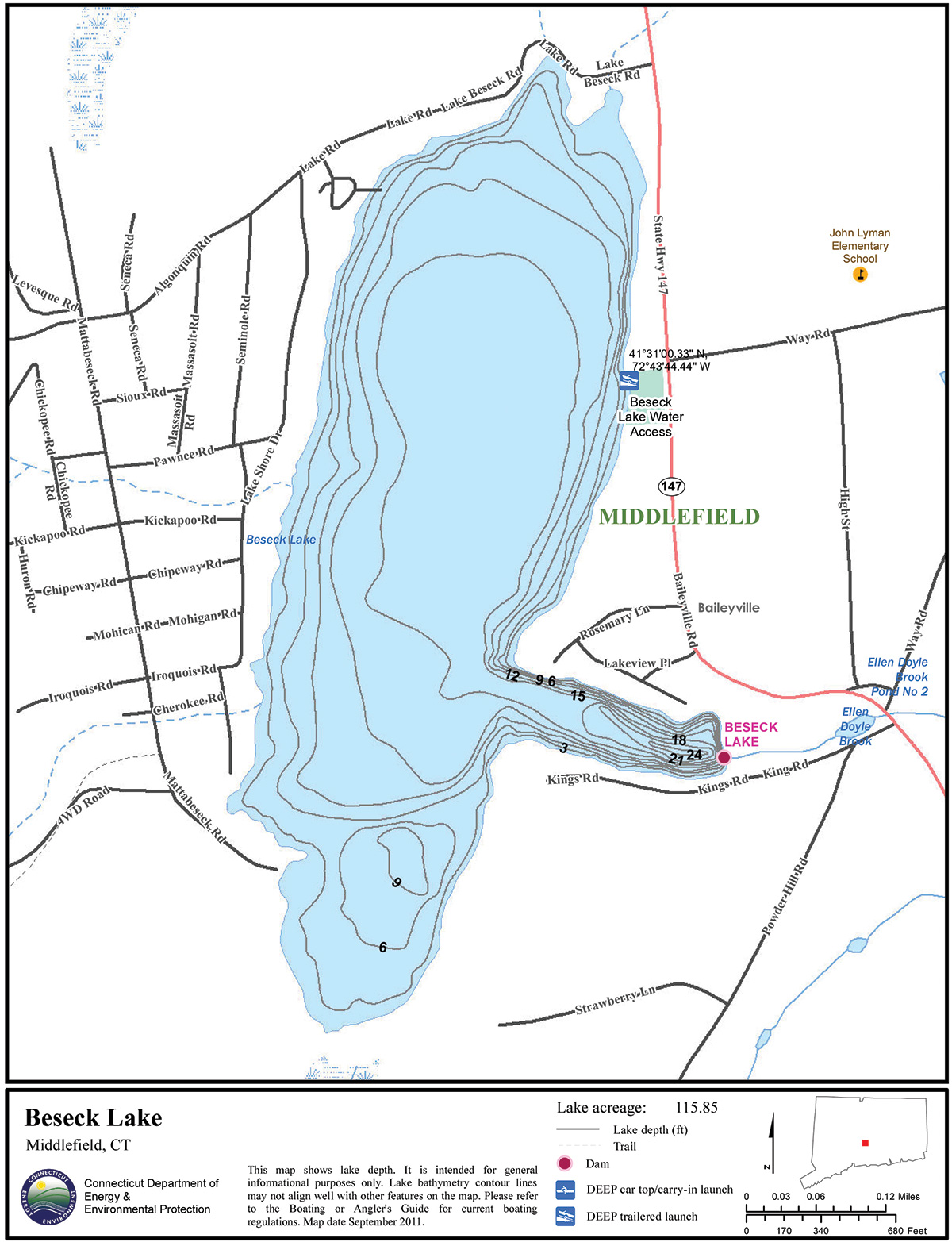 2018 1 Beseck Lake