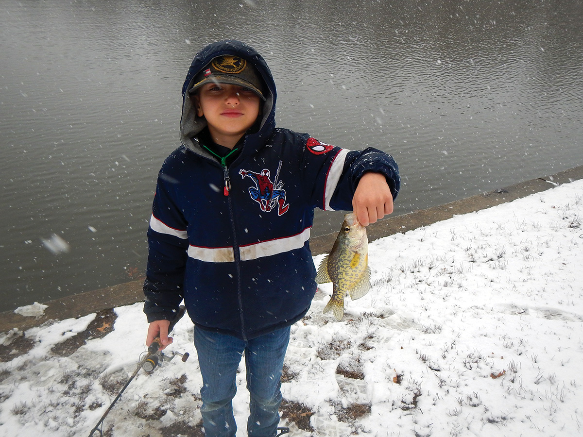 2018 2 Four Spots Winter Crappies YOUNG