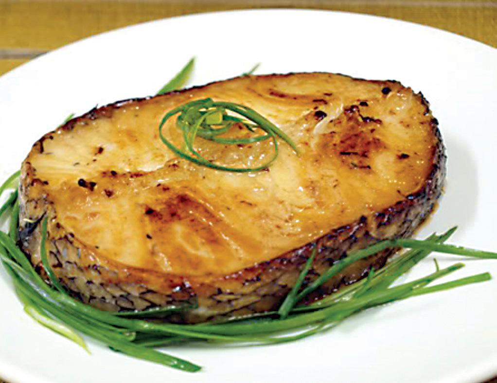 2018 3 Broiled Codfish Steaks
