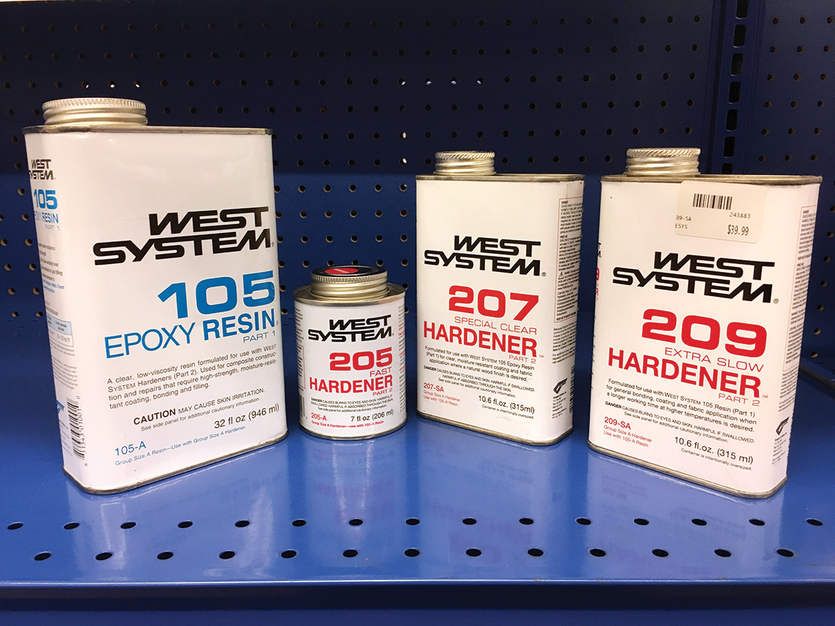 2018 3 Basic Fiber Glass Repairs West System Epoxy With Different Hardeners