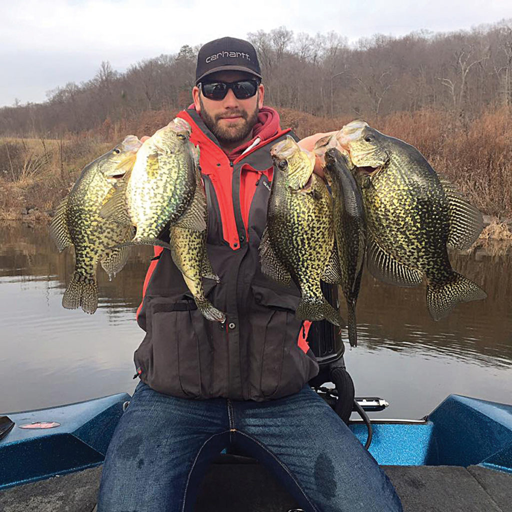 2018 3 Ice Out Tactics Bass Crappie Haul