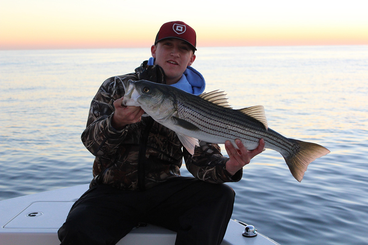 2018 3 Start To Finish Stripers Catch