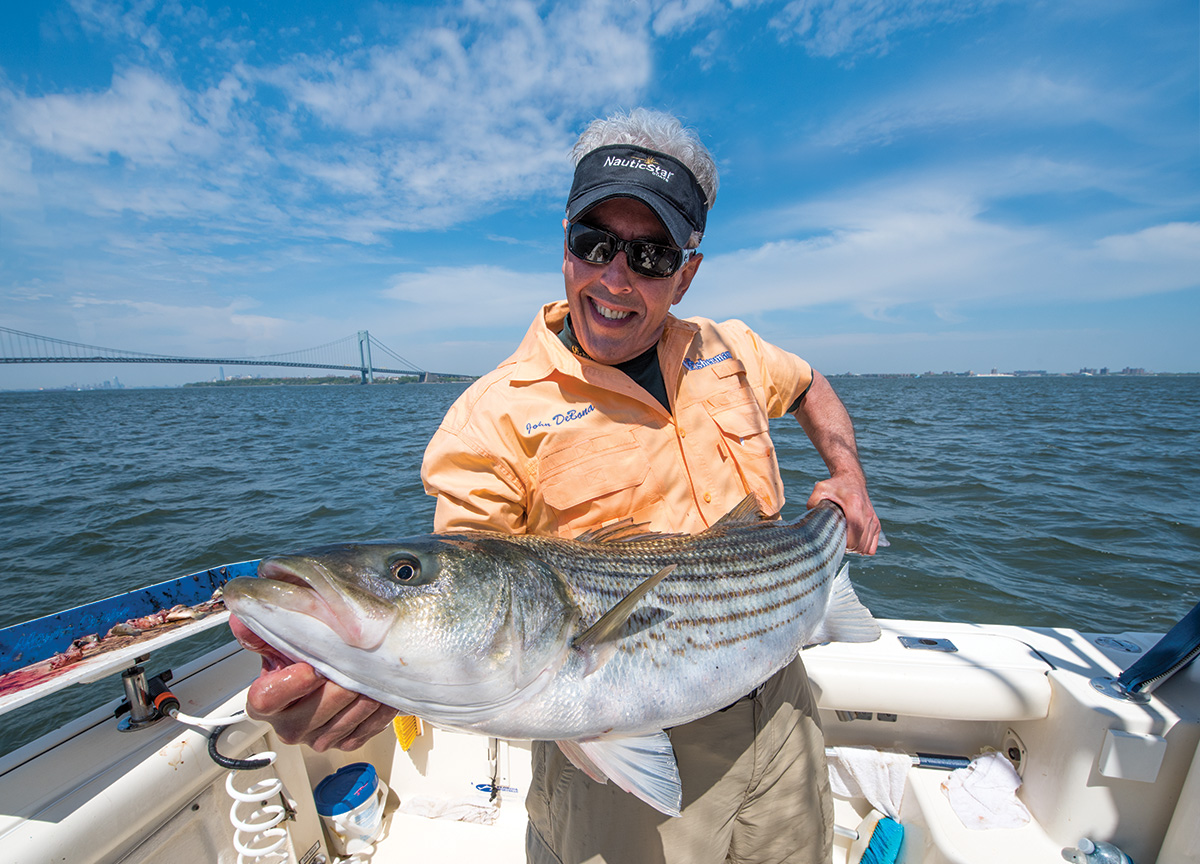 2017 10 Attracting Stripers Low Down Chunking Catch