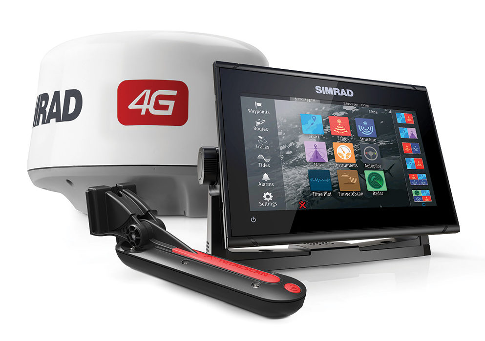 2017 9 Adding Functional Luxury To Your Boat Simrad GO9 4G Radar & TotalScan TD Bundle