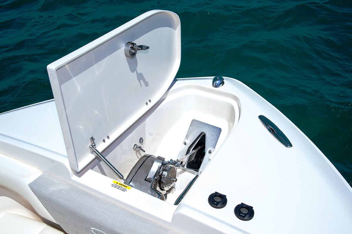 2017 9 Adding Functional Luxury To Your Boat Thru Stem Anchor Locker & Windlass
