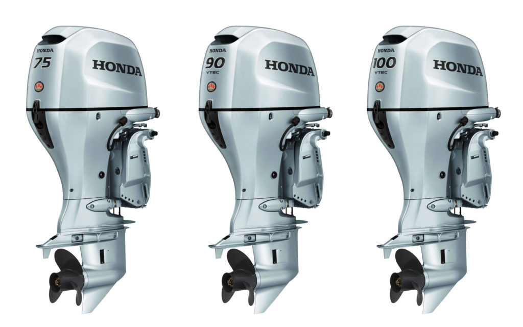 2018 1 Buyers Guide Honda BF75 BF90 BF100 Group Shot Preview