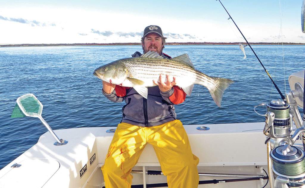 2018 10 Cashing In On Fall Stripers Catch Main