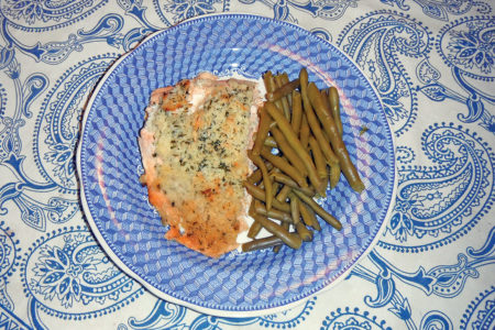 2018 10 Lemon Herb Baked Striped Bass
