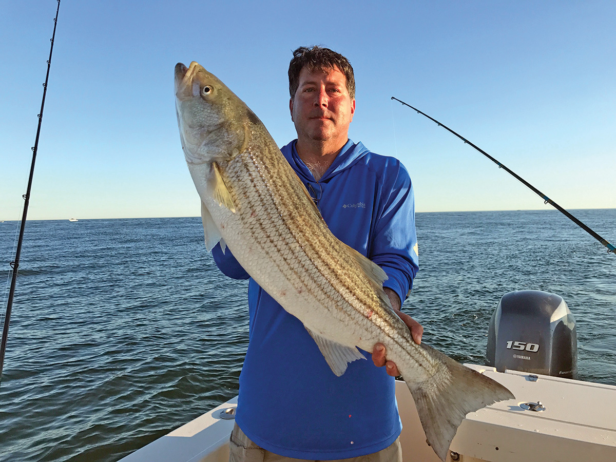 2018 10 Point The Way For Stripers Catch