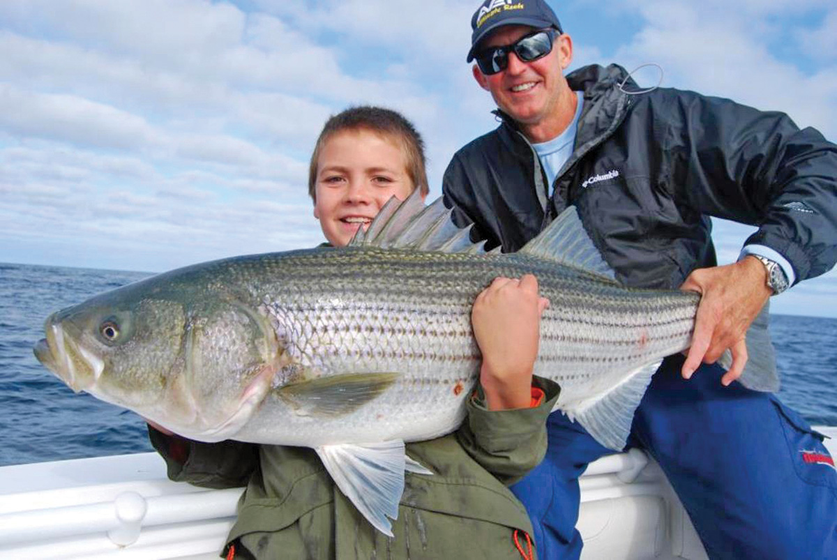 2018 10 Point The Way For Stripers Fish