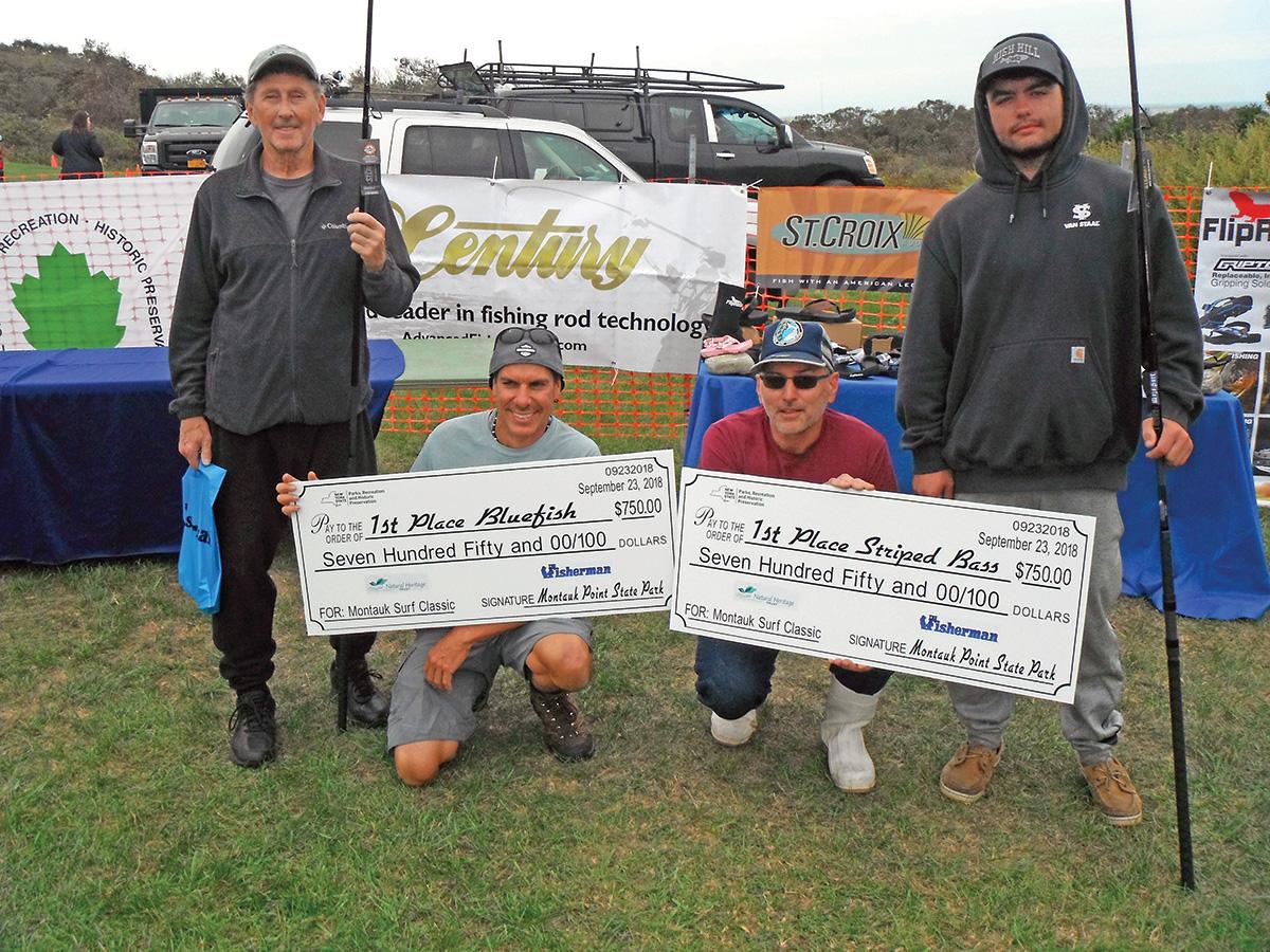 2018 11 Montauk South Shore Classic Winners