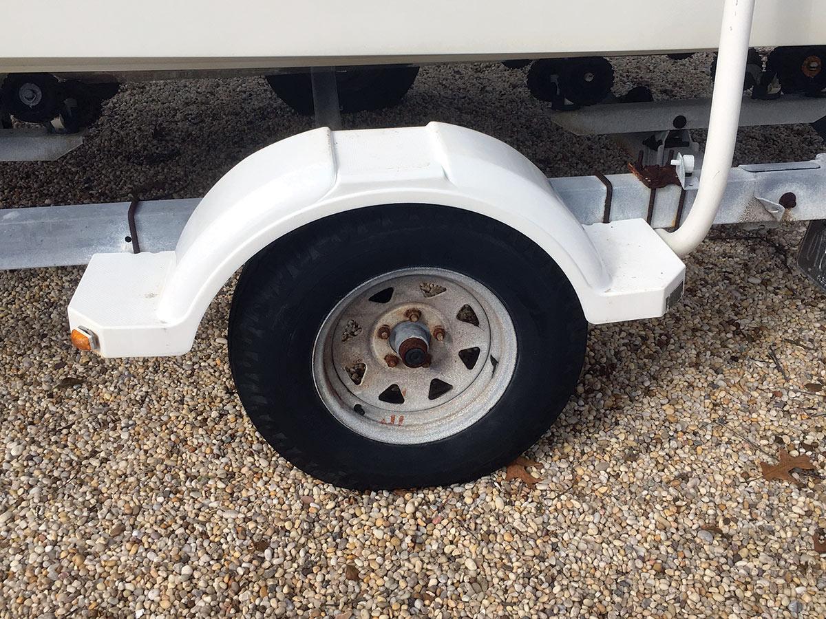 2018 4 Basic Trailer Maintenance Tire Outer Wheel Bearing