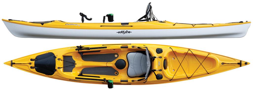 2018 5 Fishing Kayak Buyers Guide EDDYLINE Caribbean Angler 14