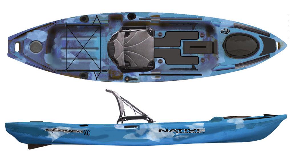 2018 5 Fishing Kayak Buyers Guide NATIVE Slayer 12 XC