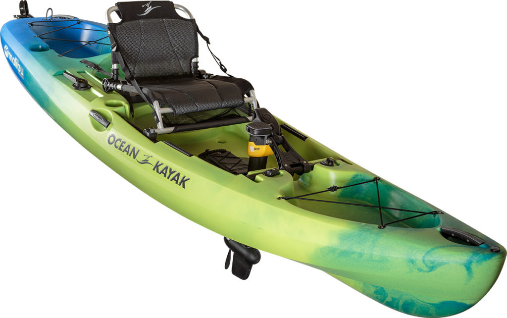 2018 5 Fishing Kayak Buyers Guide OCEAN Malibu Angle