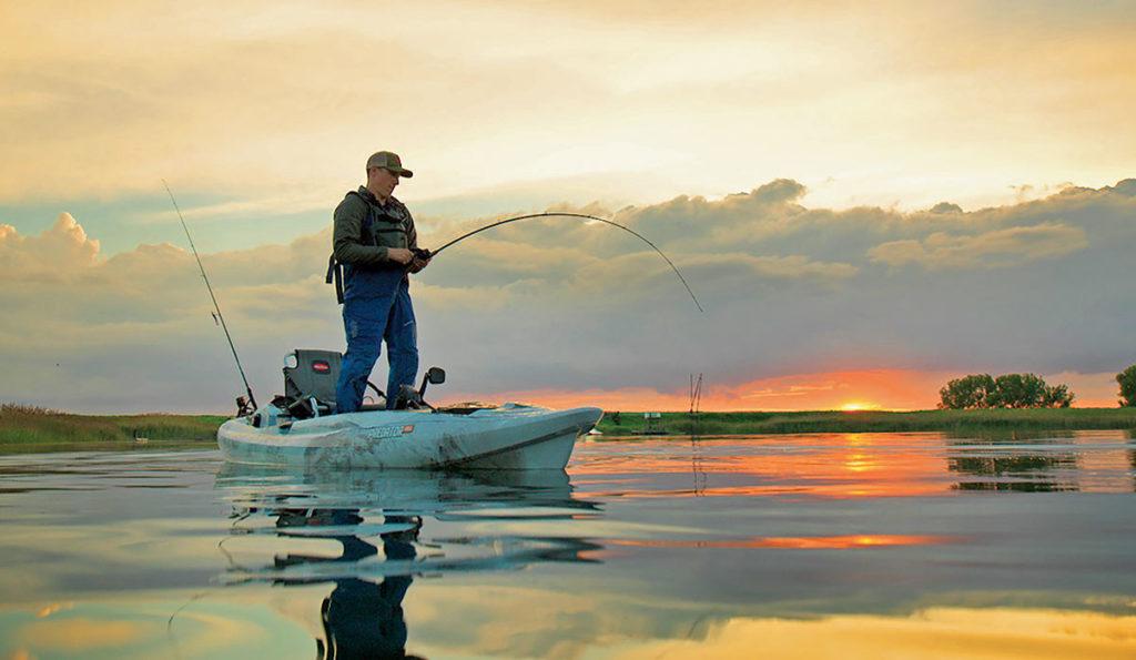 2018 5 Fishing Kayak Buyers Guide OLD TOWN 0452