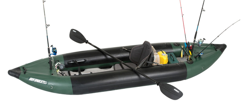 2018 5 Fishing Kayak Buyers Guide Sea Eagle1