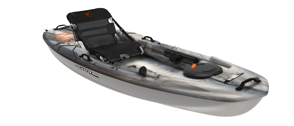 2018 5 Fishing Kayak Buyers Guide Pelican Catch 100 Side