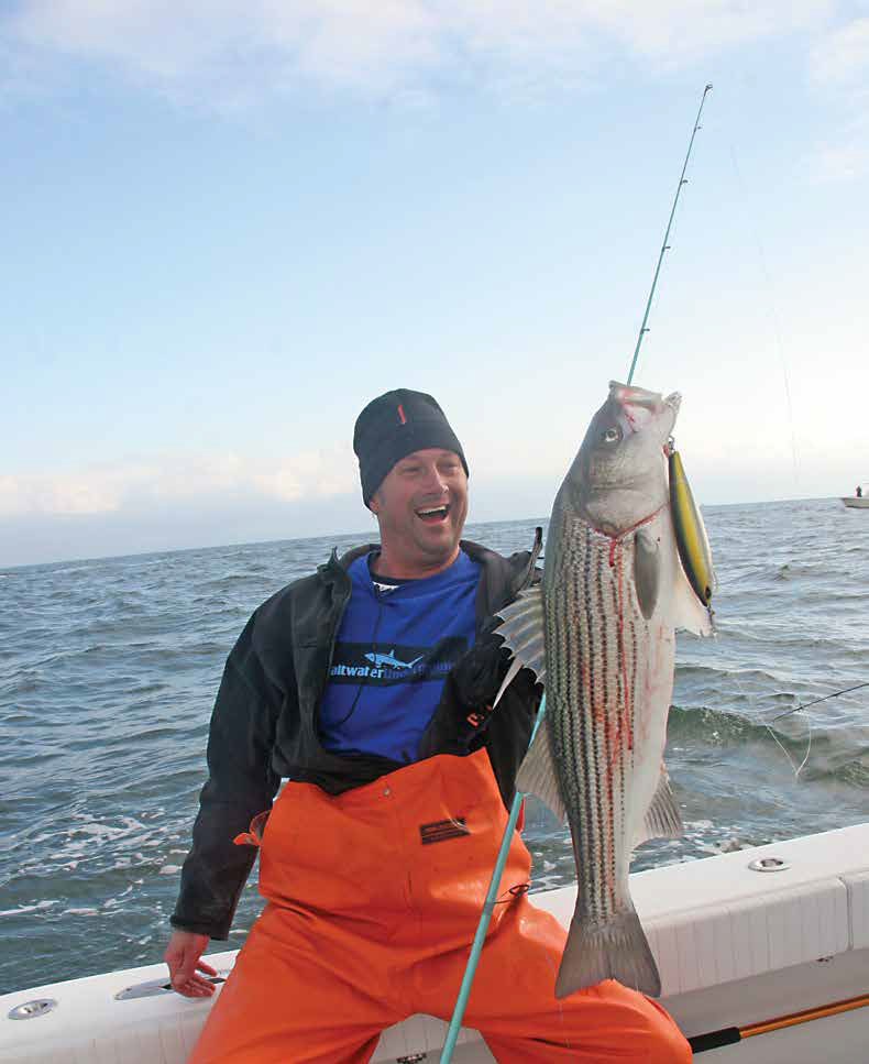 2018 6 Poppin For Stripers Catch