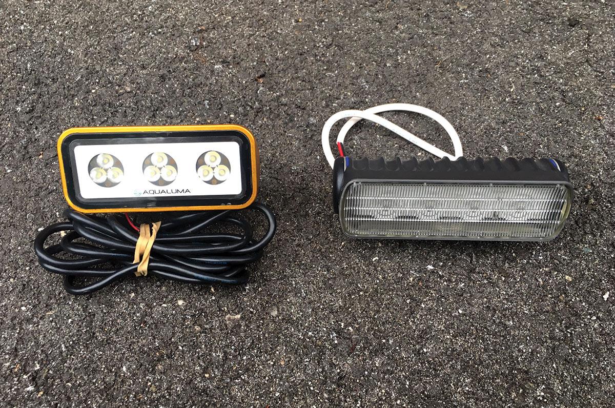 2018 7 Led Lighting Upgrades Aqualuma (L) And Hella (R) LED Cockpit Flood Lights