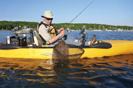 2018 7 Hands Free Fluking Kayaking