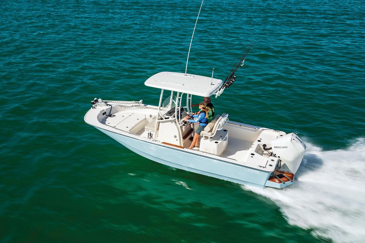 2019 1 Fishing Boat Buyers Guide BWhaler 210 Montauk 2