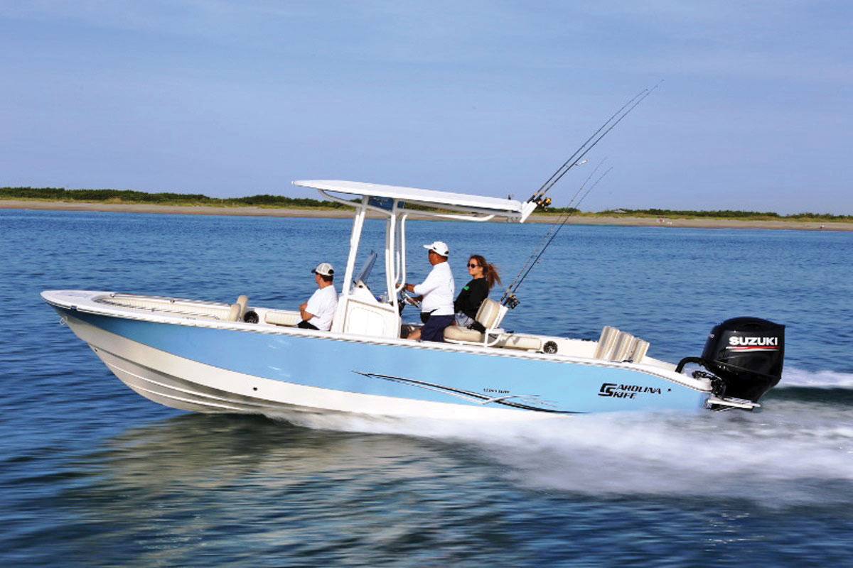 2019 1 Fishing Boat Buyers Guide Carolina Skiff 24 Ultra Elite