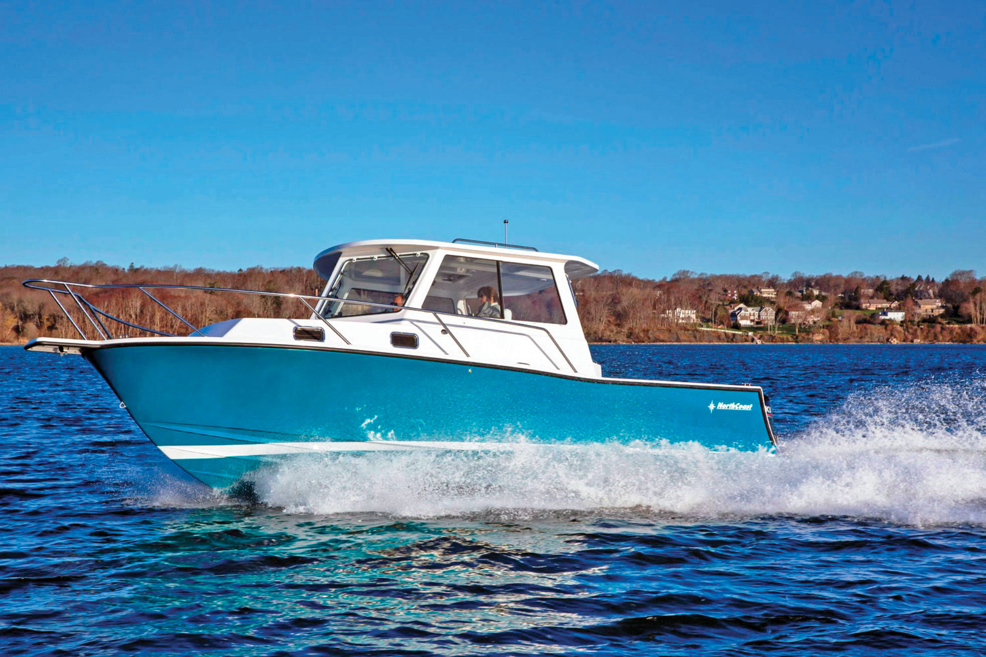 2019 1 Fishing Boat Buyers Guide NorthCoast 285 Cabin Gen 1