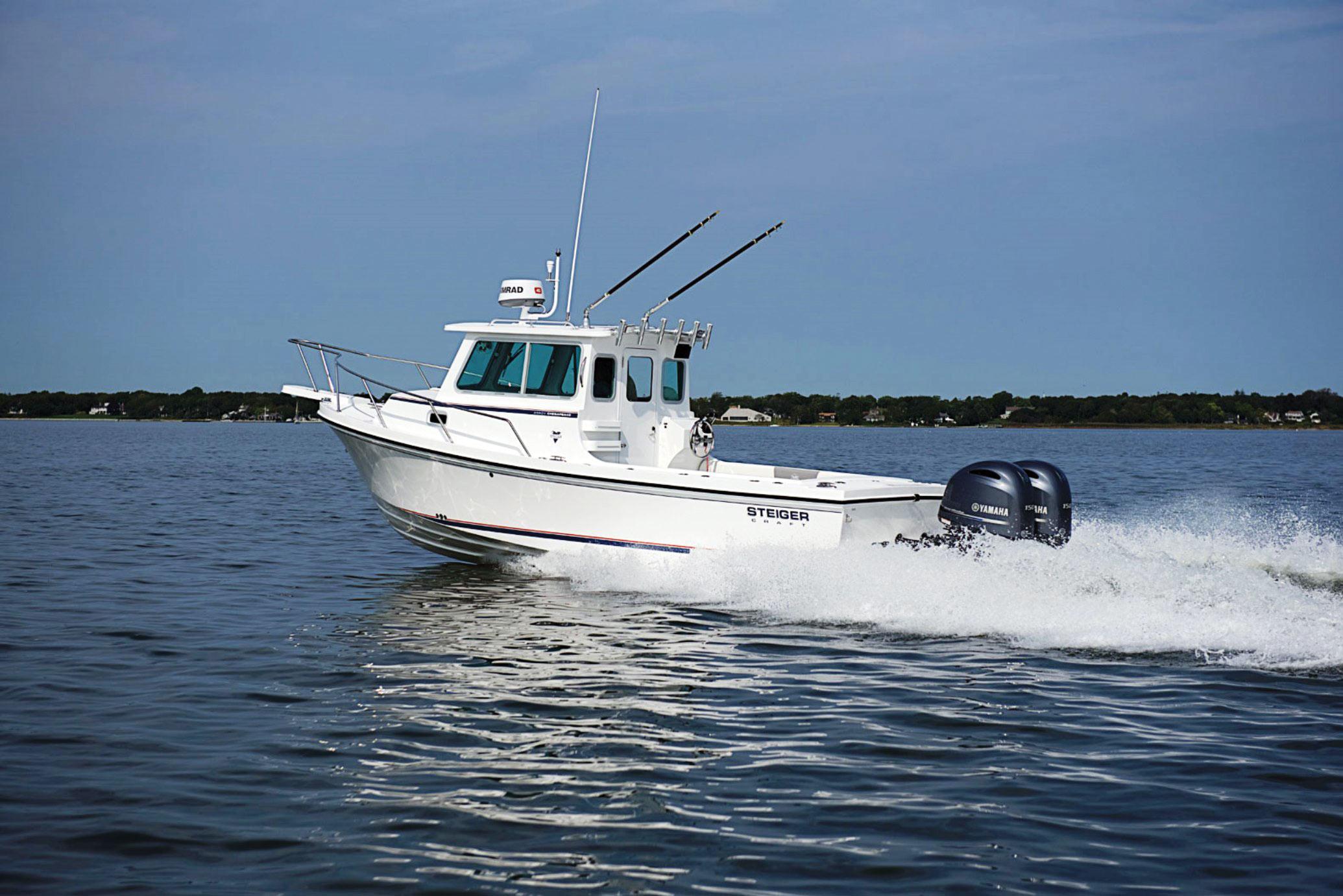 2019 1 Fishing Boat Buyers Guide Steigercraft 255 DV Chesapeake