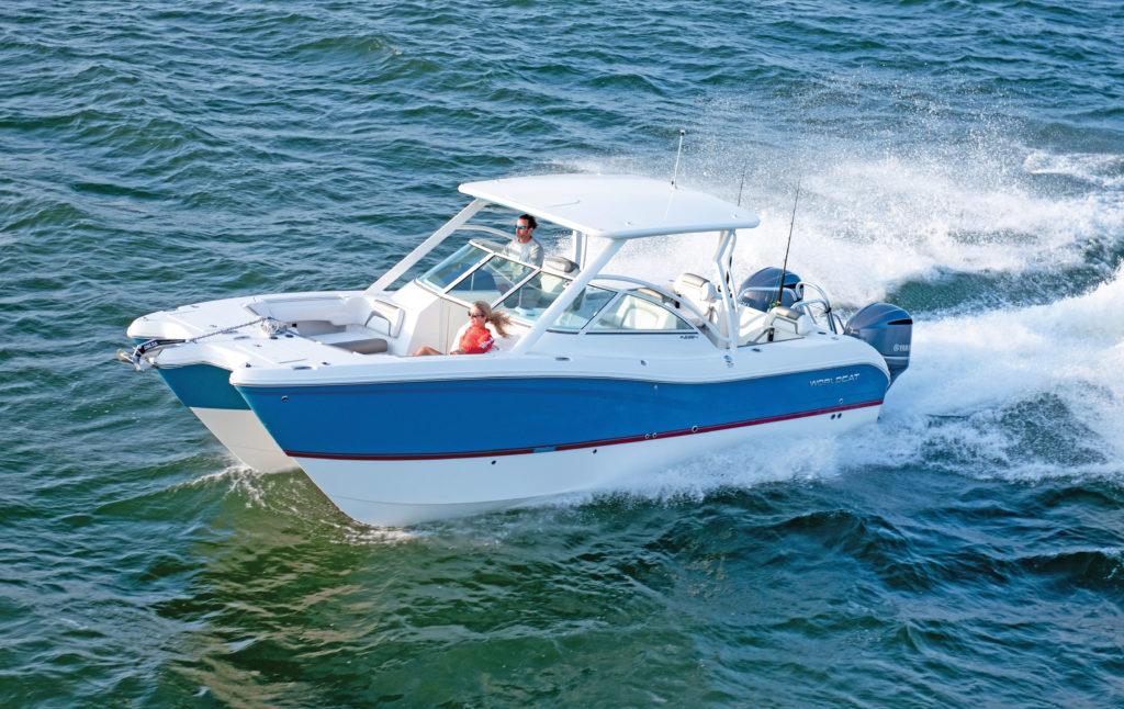 2019 1 Fishing Boat Buyers Guide World Cat 296DC