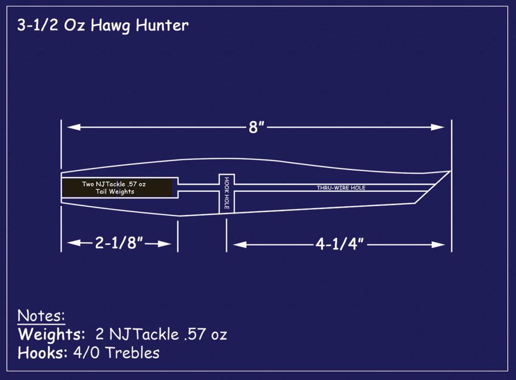 2019 1 The Hawg Hunter Pencil Hawg Blueprint