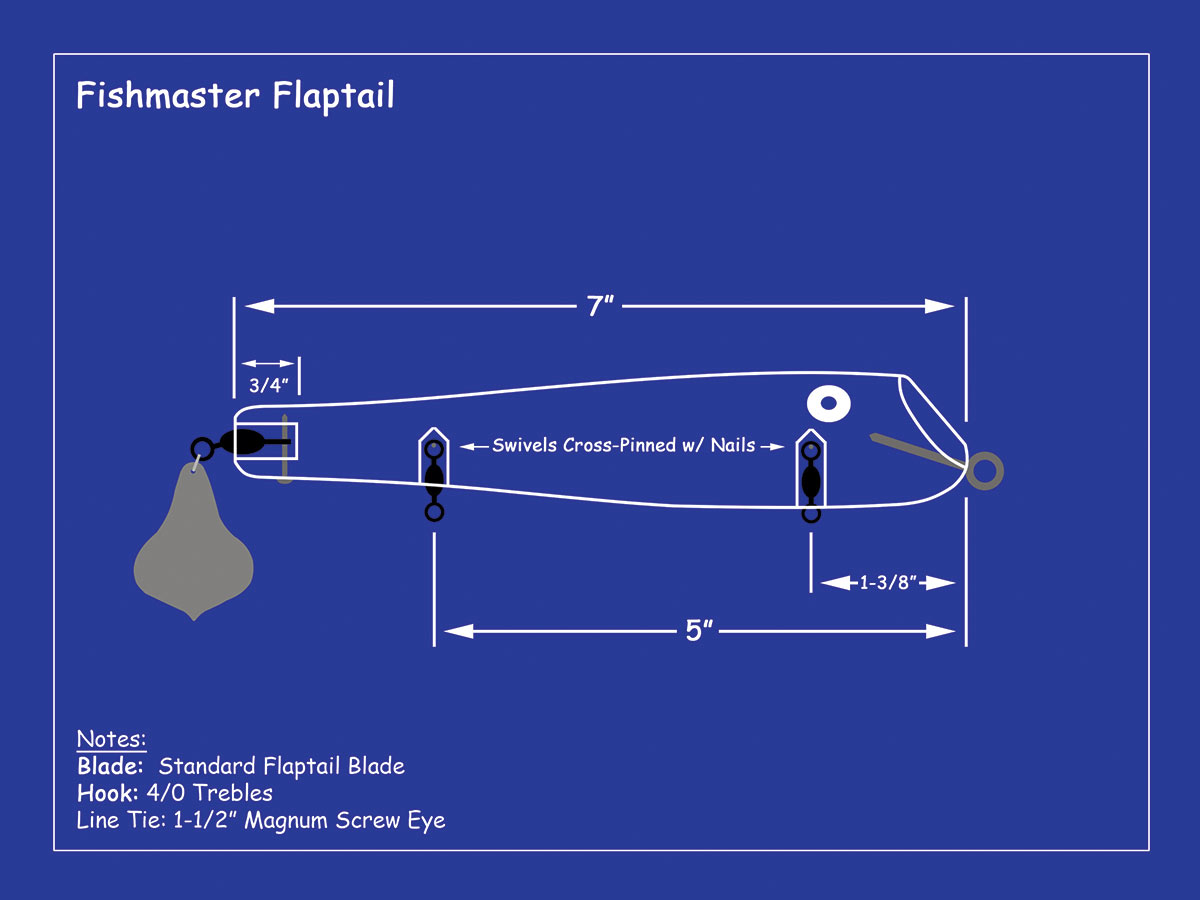 2019 2 The Fishmaster Flaptail SYLVESTER Diagram