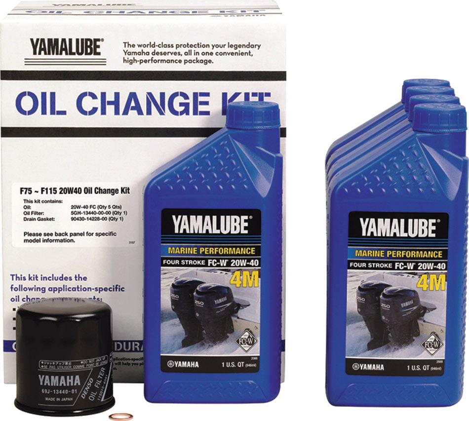 2019 4 Marine Engine Oil Yamaha Oil Change Kit