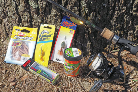 2019 4 Top Trouts Baits And Lures