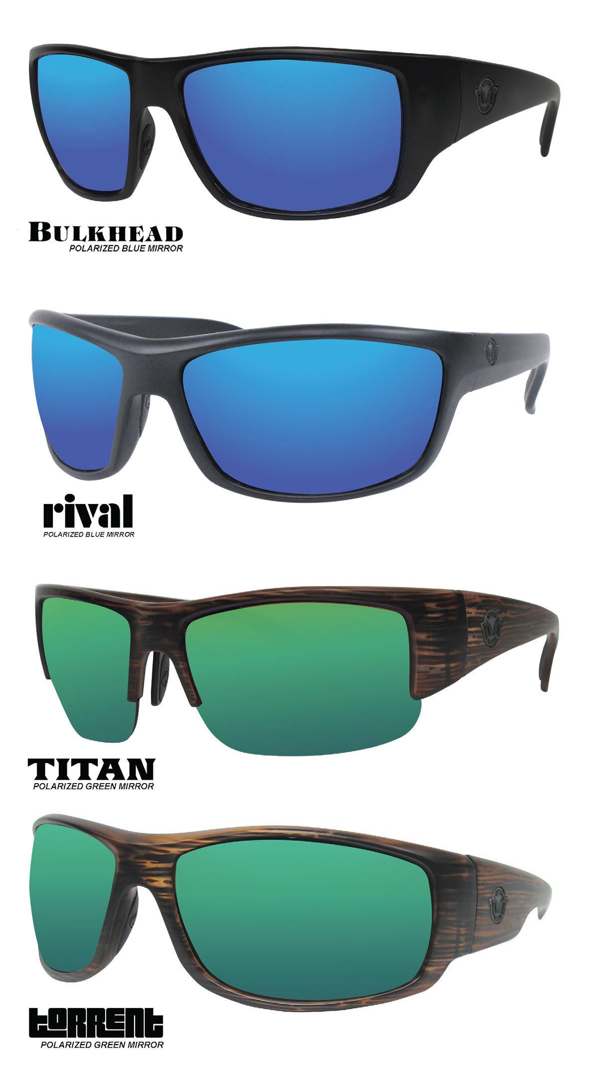 2019 4 Unsinkable Polarized Mirror Sunglasses