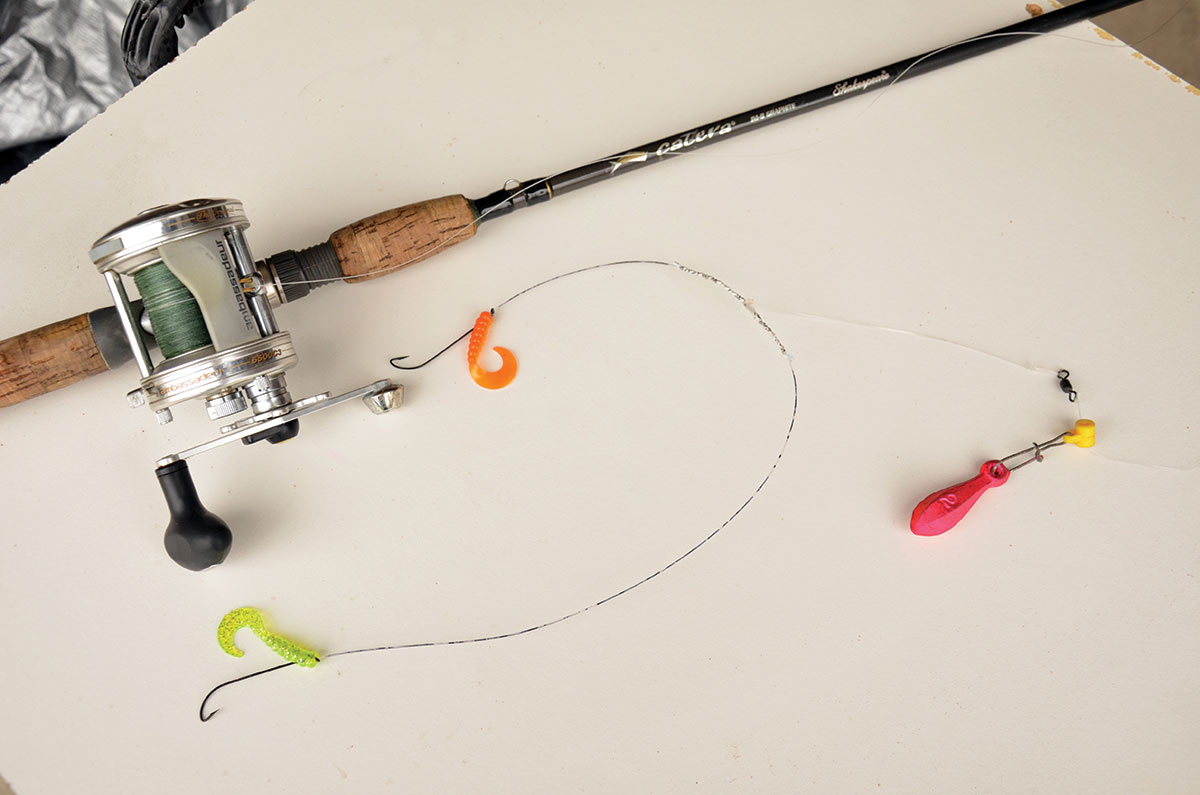 bright colored sinkers for flounder fishing
