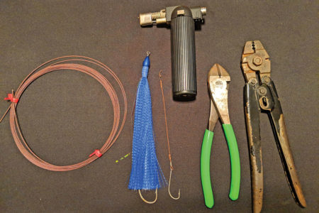 Materials needed for making ponytails