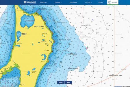 Map showing Clay Head, Block Island, RI