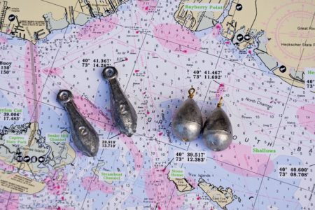 ROUND and BANK SINKERS for porgy fishing